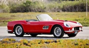 Ferrari, battuti all'asta 17 modelli per 23,5 milioni di $