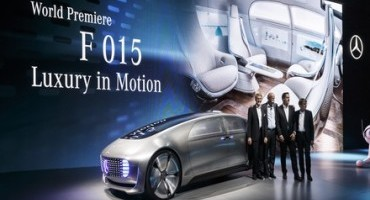 World premiere of the Mercedes-Benz F 015 Luxury in Motion at the CES