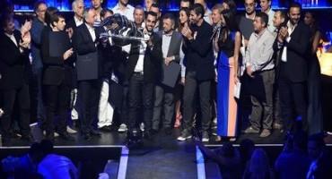 L'esclusivo 01NE di Abu Dhabi ha ospitato la cerimonia conclusiva del Maserati Trofeo World Series 2014