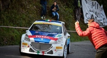 A Paolo Andreucci e alla Peugeot 208 T16 il Volante ACI