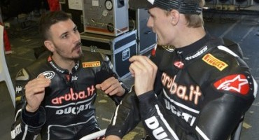 Ducati Superbike Team, conclusi positivamente i test in Spagna per l'Aruba.it