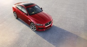 "Jaguar XE, named ""Most Beautiful Car of 2014"" at the Festival 30th Festival Automobile International in Paris"