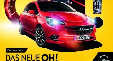 """""""OH! è una Opel, un'esclamazione per presentare la nuova Corsa"""