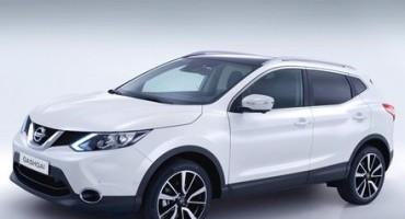 Nizzan Qashqai: per EuroNcap è la family car compatta più sicura del 2014
