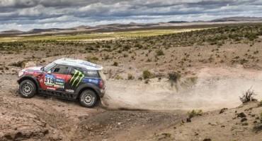 DAKAR Rally: il duo Nasser Al-Attiyah/Mathieu Baumel, su MINI, difende la posizione in classifica generale