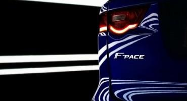 Jaguar F-Pace: dal 2016, un nuovo Crossover in gamma