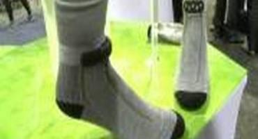Sensoria, i calzini smart che allenano alla corsa