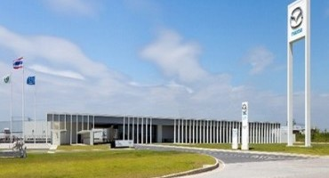 Mazda starts production at new transmission plant in Thailand