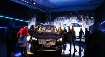 """Grande successo per la """"prima"""" italiana di Volvo XC90, oltre 1.000 le persone intervenute"""