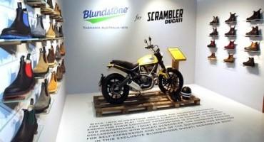 Dalla nuova collaborazione tra Scrambler Ducati e WP Lavori nasce Blundstone 800