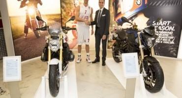 BMW Motorrad Milano, una serata all'insegna dello sport con i campioni dell'EA7