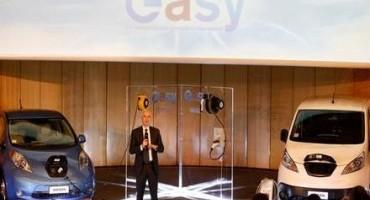 """Nissan, quando vivere la mobilità elettrica diventa """"EASY"""""""