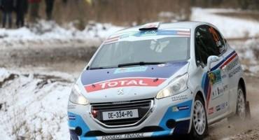 Peugeot 208 T16 , grande vittoria per Craig Breen in Lettonia!