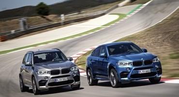 """BMW affila le armi e lancia sul mercato le nuove X5 e X6 marchiate """"M"""""""