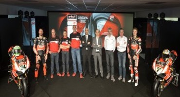 WSBK, ad Arezzo la presentazione dell'Aruba.it Racing – Ducati Superbike Team