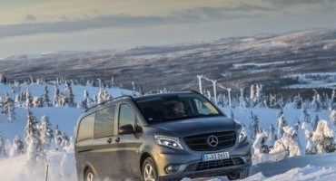 The new Mercedes-Benz Vito 4×4: a decisive traction boost  for business professionals – not just in winter!