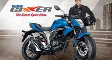 """Suzuki GIXXER vince il premio """"Bike of the Year 2015"""""""