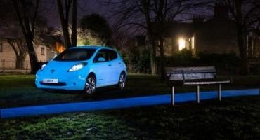Nissanèlaprimacasaautomobilistica ad utilizzare la vernice fluorescente