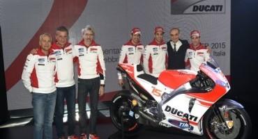 Il Ducati Team 2015 e la nuova Desmosedici GP15 presentati oggi a Bologna