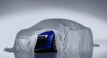 Audi, proiettori high tech e tecnologia laser per la nuova supersportiva R8