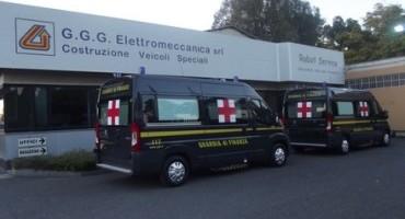 Peugeot, EXPO Milano 2015, nel parco vetture della Guardia di Finanza due Boxer allestiti ad Ambulanza