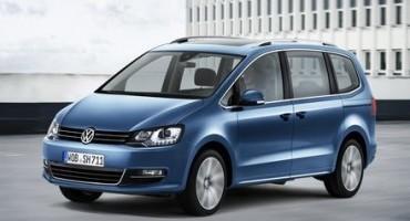 Volkswagen, Salone di Ginevra 2015, aggiornamenti sulla nuova Sharan