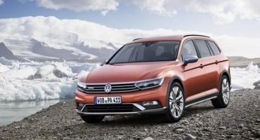 Volkswagen, Salone di Ginevra 2015, in anteprima mondiale la nuova Passat Alltrack