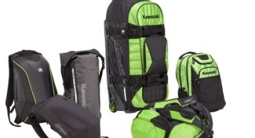 "Kawasaki firma la nuova linea ""Travel Bag"" di Ogio"