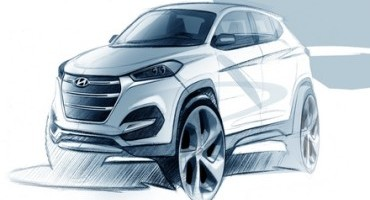 Hyundai, al Salone di Ginevra 2015 svelerà le forme della nuova Tucson