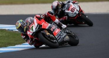 WSBK, Phillip Island: doppio podio in apertura di stagione per Chaz Davies e l'Aruba.it Racing – Ducati Superbike Team