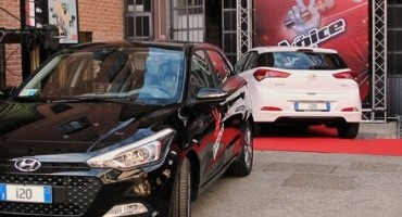 "Nuova Hyundai i20 è l'auto ufficiale del talent ""The Voice of Italy"" 2015"