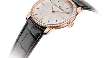 Girard-Perregaux 1966, cassa in oro rosa ed esclusivo quadrante guilloché