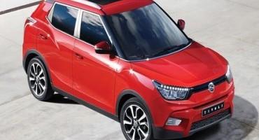 SsangYong Motor Company presenta il nuovo SUV di segmento B, si chiama Tivoli
