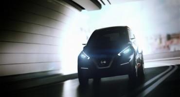"""Nissan al Salone di Ginevra 2015 svela il futuro della sua """"piccola"""" berlina, la Sway"""