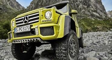Mercedes presenta la nuova G 500 4×4 al quadrato