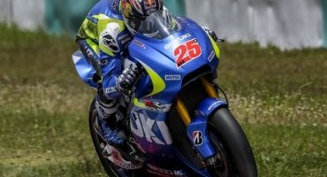 MotoGP, positive three-day test for Suzuki Sepang