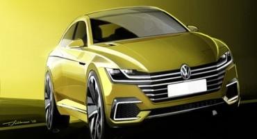 Volkswagen, world premiere of the Sport Coupé Concept GTE in Geneva