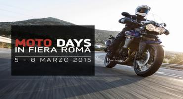 Triumph, ai Motodays 2015 esporrà le novità della stagione in corso