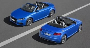 Audi presenta le nuove TT Roadster e TTS Roadster, quando la sportività si fonde con l'High-tech