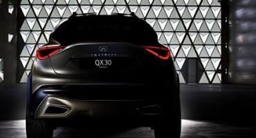 Infiniti, la nuova Q30 in anteprima mondiale al Salone dell'Auto di Ginevra 2015