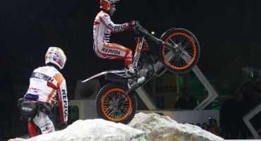 Further display of strength and technique from Toni Bou in Marseille