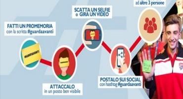"""Piloti e giornalisti sportivi aderiscono al challenge di """"Guarda Avanti"""", per un uso corretto del cellulare"""