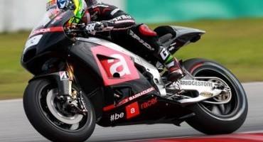 MotoGP, Aprilia, terminati i primi tre giorni di test della stagione 2015