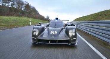 Porsche, continua lo sviluppo della 919 Hybrid in vista di Le Mans e del WEC