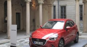 Mazda2 alla Fashion Week milanese, tra le stelle della Moda