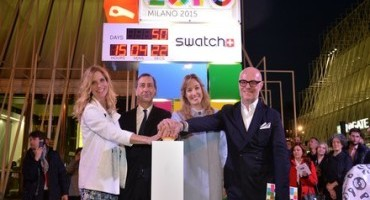Expo Milano 2015: Swatch è Official Watch & Timekeeper