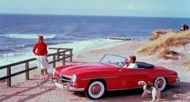 Compie 60 anni la Mercedes-Benz 190 SL