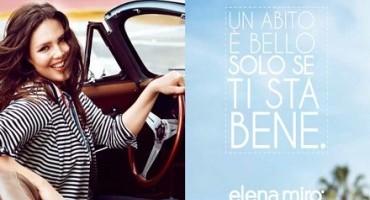 Candice Huffine protagonista del nuovo messaggio di Elena Mirò
