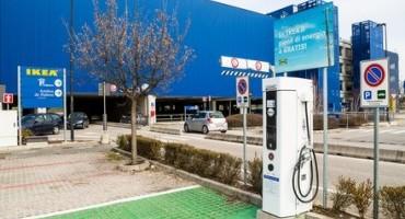 Nissan, presso il centro commerciale di IKEA Padova la prima infrastruttura di ricarica rapida