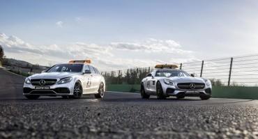 Mercedes-AMG GT S e C 63 S nel Mondiale Formula 1™, per la sicurezza sui tracciati